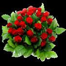 Telegram met bloemen